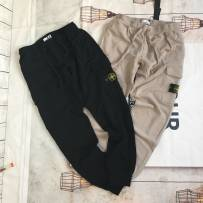 Casual pants Others Youth fashion Off white black S M L XL trousers Other leisure easy