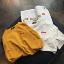 T-shirt White yellow blue black S M L XL 2XL Spring of 2018 Short sleeve Crew neck easy Regular routine street other 51% (inclusive) - 70% (inclusive) 18-24 years old other letter Other / other neutral