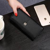 wallet Европа и Америка PU другой / другие Темно-серый черный светло-серый синий порошок светло-серый синий черный темно-серый розовый новый засов