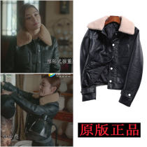 leather clothing Fall 2017 black S M L XL Yu Xiangyu Short paragraph Self-cultivation Long sleeve other Commuting POLO collar conventional Fur collar PU