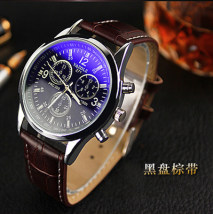 Wristwatch Yazole / yazhuolen Shop warranty quartz movement  male other domestic 0ATM alloy Mineral reinforced glass mirror 8.6mm 40.5mm Black black belt black brown belt white black belt white brown belt Two hundred and seventy-one circular fashion Pointer type Pin buckle ordinary ordinary China