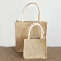 Shopping bag / environmental protection bag Other horizontal trumpets vertical trumpets Jute jute color jute color Baizhixuan public like a breath of fresh air BZX98636 yes Straw weaving