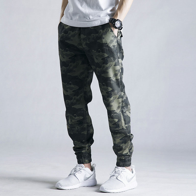 Casual pants Others Youth fashion other 28 30 32 34 36 38 40 42 routine trousers motion easy No bullet JF-20 autumn teenagers Military brigade of tooling 2016 middle-waisted Little feet Cotton 100% Overalls printing washing camouflage other cotton cotton Fashion brand More than 95%