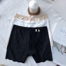 Leggings Summer of 2018 White, black, apricot Average size Thin money shorts