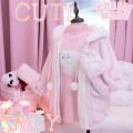 short coat Winter 2016 M full l full Pink [in stock] Soft girl cmc230