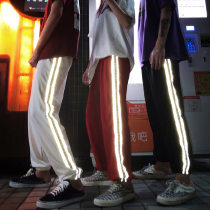Casual pants White, black, red M (rush price) XL (rush price) ml XL Summer of 2018 trousers High waist commute Thin money 18-24 years old 96% and above