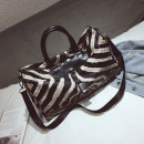 Travel bag PU nothing Joni black Xiaoda no leisure time Single root Japan and South Korea Backpack type polyester fiber Soft handle Animal design youth Zipper pocket, mobile phone bag, certificate bag Zebra pattern one thousand five hundred and sixty-one female soft surface