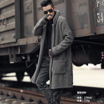Sweater Youth fashion Mixlimited / men's Club Olive green coffee grey black M L XL Cardigan Solid color F7099.