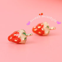 Ear Studs Alloy / silver / gold RMB 1.00-9.99 Other / other Earring (pair) necklace eardrop (pair) earclip hairpin brand new Japan and South Korea female goods in stock Online gathering features Not inlaid Plants and flowers