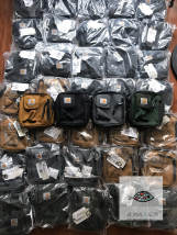 The single shoulder bag carhartt Khaki spot black spot in addition to true and false non return steel gray spot camouflage spot