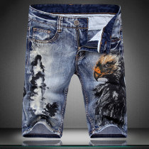 Jeans Fashion City Others 29 30 31 32 33 34 36 38 routine Micro bomb Thin denim Pant Other leisure summer youth Simplicity in Europe and America 2018