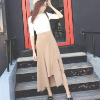 skirt Spring of 2018 S 75-90 or so m 90-105 or so l 105-115 or so XL 115-125 or so 2XL 125-135 or so Black khaki is preferred for gift collection other