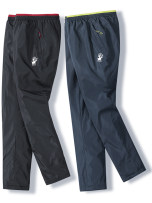 cotton-padded trousers Business gentleman David's deer M L XL 2XL 3XL 4XL 5XL Add cotton black add cotton blue add velvet black add velvet blue add cotton add velvet black add cotton add velvet blue Cotton trousers man trousers New polyester fiber 100% leisure time Basic public middle age Solid color