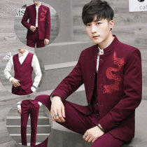 man 's suit Youth fashion Off white Baichangge routine L YUYE00342 Polyethylene terephthalate (polyester) 73% viscose fiber (viscose fiber) 27% Fall 2017 Pure e-commerce (online only)