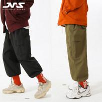 Casual pants Mr. Jiangnan Youth fashion grey M routine No bullet JNYCS-2118 Cotton 68.4% polyester 31.6% Autumn of 2018