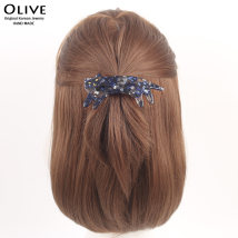 Hair accessories Top clamp 30-39.99 yuan Other / other blue brand new Japan and South Korea Fresh out of the oven other Not inlaid