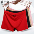 underpants female L size 80 Jin - 100 Jin XL SIZE 100 Jin - 120 Jin XXL size 120 Jin - 140 Jin Yaskay 4 cotton boxer middle-waisted Simplicity Solid color middle age More than 95% Modal fabric Safety trousers 936#