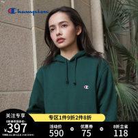 Sweater Youth fashion CHAMPION Grey-070-plush size small black-090-cashmere beige-020-plused sea blue-370-plused dark green-570-plused S M L XL XXL