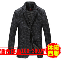 man 's suit Fashion City White, blue, black Others routine L [bust 110] XL [bust 114] 2XL [bust 118] 3XL [bust 122] 4XL [bust 126] 5XL [bust 132] 6xl [bust 138] 7XL [bust 144] 8xl [bust 150] seven thousand and eleven easy Double breasted Other leisure No slits Large size Long sleeves autumn routine