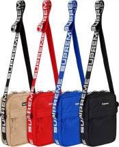 The single shoulder bag Other / other Red Khaki blue black zipper 15cm*19cm 1.8L