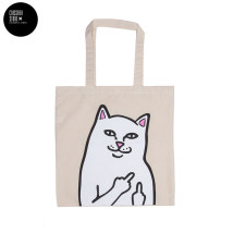 Bag The single shoulder bag canvas other Other / other white brand new Fashion trend in leisure time soft Exposure yes Animal design Double root One shoulder hand nothing youth other printing Soft handle canvas fifty-one million seven hundred and seventy-four thousand three hundred and fifty-four