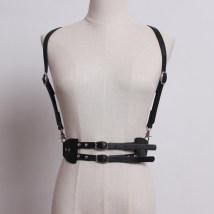 Belt / belt / chain Pu (artificial leather) Coffee Khaki black apricot