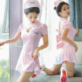 Other suits Siamese nurse suit + hat Siamese nurse suit + hat + stockings Siamese nurse suit + hat + stockings Winter 2016 Average code 18-25 years old Other/others one thousand one hundred and eleven