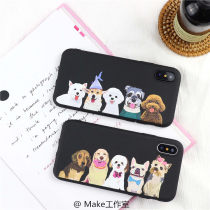Mobile phone cover / case other Cartoon Apple / apple iPhone6/7/8/X Protective shell TPU