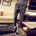 Casual pants Youth epidemic gray Woodydaton 4XL conventional In the bullet K629 Polyester fiber 54% viscose fiber (viscose fiber) 42.6% polyurethane elastic fiber (spandex) 3.4% Spring 2017 Pure electricity supplier (only online sales) Roman cloth