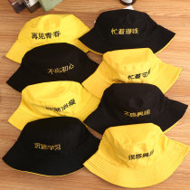 Hat cotton Fisherman's cap (56-58cm) Basin cap / fisherman's hat Spring summer autumn currency leisure time Young lovers dome Wide eaves letter Travel