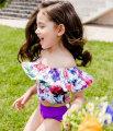 Bathing suit 5(90cm) 7(100cm) 9(110cm) 11(120cm) 13(130cm) 15(140cm) 17(150cm) Other 100% Purple green Other / other female Children's split swimsuit
