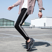 Casual pants Others Youth fashion black M L XL 2XL 3XL routine trousers Other leisure Self cultivation Micro bomb eight thousand eight hundred and one