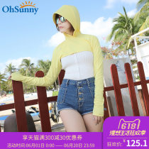 Scarf / silk scarf / Shawl other Spring and summer female Shawl sunshade Youth, middle age Ohsunny 18SSF008 Spring / summer 2018