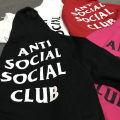 Sweater ASSC basic clothes black (hot sale) ASSC basic clothes white ASSC basic clothes rose red ASSC basic clothes scarlet S M L XL Youth epidemic S37 letter Sleeve Plus velvet Round neck autumn tide Loose Casual teens cotton 70% (including) -79% (inclusive)