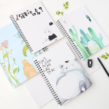 Notebook / Notepad Other / other Coil / helix Others notebook like a breath of fresh air General notebook Soft copy A5 Writing office Student white collar Others Daolin paper