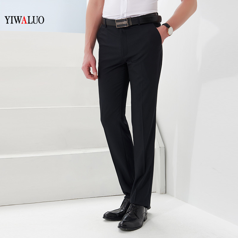 Western-style trousers Ivalo Business gentleman Tibetan green Eighty-eight seventeen thousand one hundred and sixty-nine Other 100% Summer of 2018