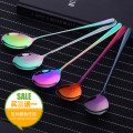 Spoon Set / fork chopsticks Chinese Mainland Metal Beasta Self made pictures Korean magic color public Tender girl's heart Korean version restaurant Daily gift giving thirty-eight point five