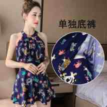 one piece  See description M (recommended 80-96 kg) l (recommended 96-110 kg) XL (recommended 110-125 kg) 2XL (recommended 125-148 kg) 3XL (recommended 145-165 kg) Skirt one piece Steel strap breast pad Spandex polyester seven thousand and thirty-nine