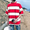 T-shirt Youth fashion Light Blue Navy Red Green routine S 80-95 Jin m 95-115 Jin l 120-130 Jin XL 135-145 Jin 2XL 150-160 Jin 3XL 165-175 Jin 4XL 180-190 Jin 5XL 195-230 Jin s ml XL 2XL Others Short sleeve Crew neck easy daily summer Large size raglan sleeve like a breath of fresh air Terry cloth