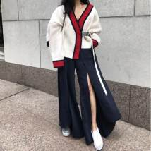 Wool knitwear Autumn of 2018 S M Graph color other 31% (inclusive) - 50% (inclusive)