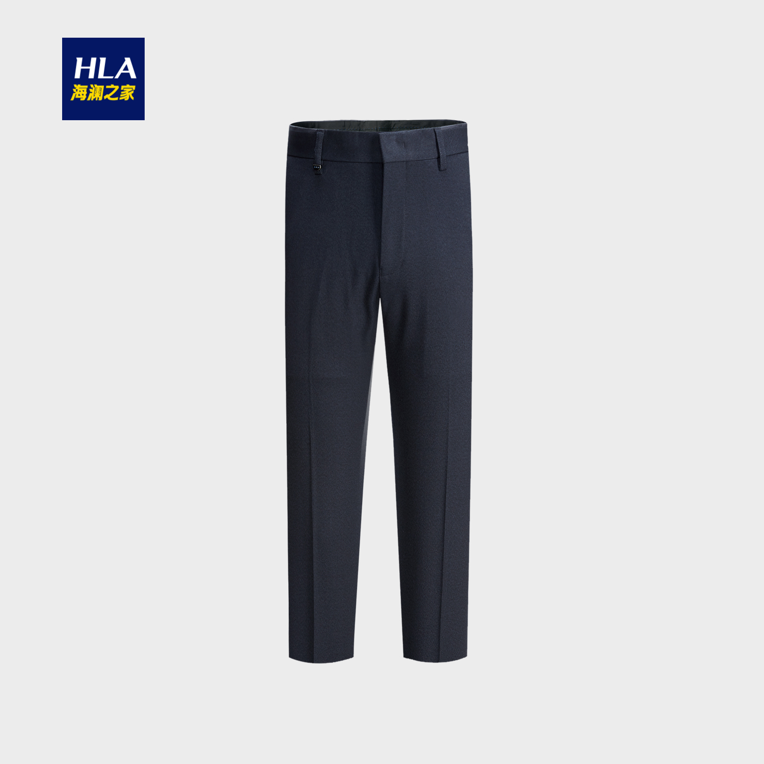 Western-style trousers HLA / Hailan home Business gentleman Zang Qing 53 165/72A HKXAD3E053A Polyester fiber 70% viscose fiber (viscose fiber) 24% polyurethane elastic fiber (spandex) 6% Autumn of 2018 Same model in shopping mall (sold online and offline)