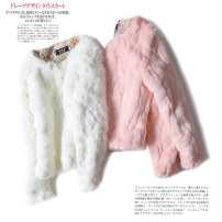 short coat Winter of 2018 S M L XL 2XL Skin pink Beige Korean pink elegant white Long sleeves have cash less than that is registered in the accounts thickening singleton  Straight cylinder commute routine Crew neck Three buttons Solid color 25-29 years old Other / other Nine hundred and ninety-nine