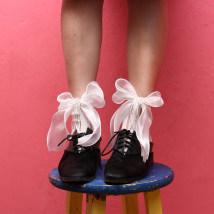 Socks / base socks / silk socks / leg socks female Other / other Average size white 1 pair Thin money Middle cylinder