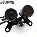 Motorcycle instrument MotoParty CG double watch Black (rotating speed machinery) CG double watch Black (rotating speed inductance) CG double watch electroplating (rotating speed machinery) CG double watch electroplating (rotating speed inductance) YB-7