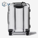 suitcase RIMOWA Germany 2000 euro For men and women transparent color 22 inches