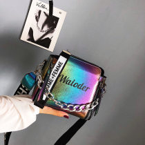 Bag Inclined shoulder bag PU Bucket bag Ruvanni Pink color silver black brand new European and American fashion Small leisure time soft zipper no Solid color Single root One shoulder portable messenger nothing youth Bucket shaped Sewing Soft handle soft surface