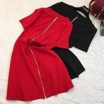 Wool knitwear Summer 2017 Average size Black (long sleeve version) red (long sleeve version) red black other 31% (inclusive) - 50% (inclusive)