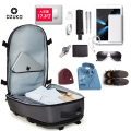 Backpack oxford Ozuko / Jianneng Black large black small blue large blue small gray large gray small camouflage small camouflage large brand new large zipper leisure time Double root Business / OL soft youth no Soft handle Solid color Yes male Water splashing prevention Vertical square Sewing yes