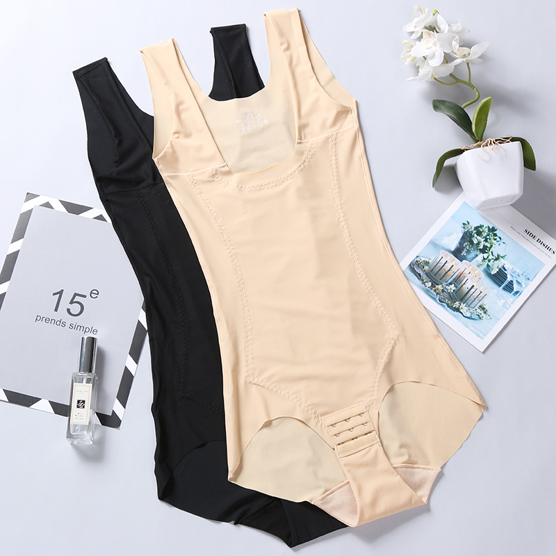 Body shaping suit Four seasons Lin Xinhe 3728 skin color 3728 black L (recommended 100-115 kg) XL (recommended 116-130 kg) XXL (recommended 131-145 kg) XXXL (recommended 146-170 kg) routine The abdomen