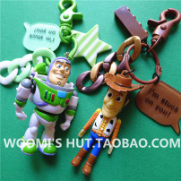Cartoon card / Pendant / stationery Over 3 years old Keychain / Pendant Toy Story Mania Sergeant woody in bath Lightyear Key chain style random other